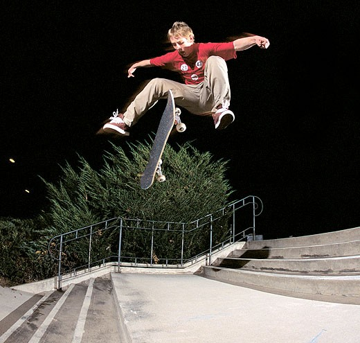 Brandon Westgate Tre Flip